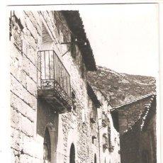 Postales: SANTA EULALIA DE LA PEÑA (HUESCA) POSTAL FOTOGRÁFICA.. Lote 265719909
