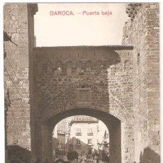 Postales: DAROCA (ZARAGOZA) PUERTA BAJA.. Lote 265723339