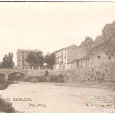 Postales: ALHAMA DE ARAGÓN (ZARAGOZA) RÍO JALÓN.. Lote 265733964