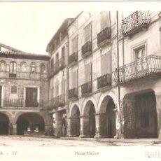 Postales: ESTADILLA (HUESCA) PLAZA MAYOR.. Lote 265738489