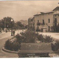 Postales: TAMARITE (HUESCA) PLAZA DE ESPAÑA.. Lote 265743064
