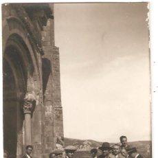 Postales: LOARRE (HUESCA)1928 CASTILLO DE LOARRE (POSTAL FOTOGRÁFICA). Lote 265745709