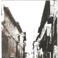 Postales: CAMPO (HUESCA) CALLE SAN ANTONIO.. Lote 265797109