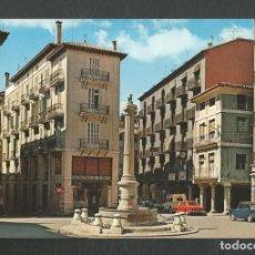 Cartes Postales: POSTAL SIN CIRCULAR TERUEL 25 PLAZA DE CARLOS CASTEL (TORICO) EDITA GARCIA GARRABELLA. Lote 267130459