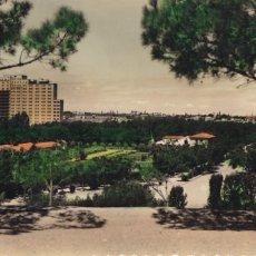 Postais: ZARAGOZA PARQUE PRIMO DE RIVERA. ED. LUJO Nº 49. BYN COLOREADA. ESCRITA. Lote 267814429