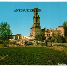 Postales: BELCHITE Nº 8 CONVENTO DE SAN AGUSTIN / FOTO ZERKOWITZ. Lote 267835464