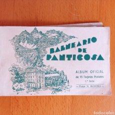 Postales: ALBUM OFICIAL DE BALNEARIO DE PANTICOSA ARAGÓN PIRINEOS. Lote 268812199