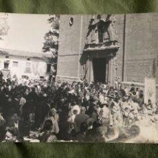 Postales: ANTIGUA POSTAL ALCALA DE LA SELVA TERUEL FIESTAS DE LA VIRGEN DE LA VEGA. Lote 268847724