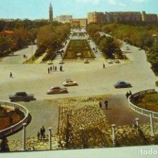 Postales: POSTAL ZARAGOZA -PARQUE PRIMO DE RIVERA ESCRITA. Lote 268884769