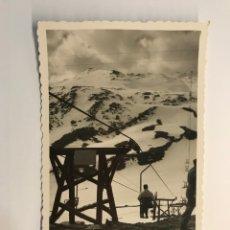 Postales: CANDANCHU (HUESCA) POSTAL NO.9, TELESQUÍ. EDIC. DARVI (A.1953) ESCRITA…. Lote 269016444