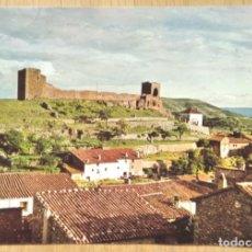 Postales: MORA DE RUBIELOS - TERUEL - MURALLAS Y ERMITA DE LA DOLOROSA. Lote 269210373