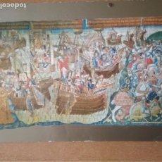 Postales: ZARAGOZA-CATEDRAL DE LA SEO. MUSEO DE TAPICES. LAS NAVES S,XV (ESCRITA Y CON SELLO). Lote 269214703