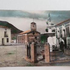 Postales: MANZANERA - IGLESIA Y FUENTE DE LOS CEREZOS - LAXC - P52073. Lote 269246058