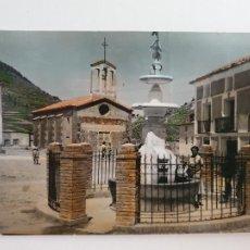 Postales: MANZANERA - PLAZA MAYOR DE LOS CEREZOS - LAXC - P52074. Lote 269246188