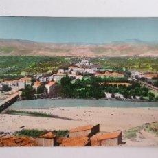Postales: FRAGA - VISTA PARCIAL DE LA AVENIDA DEL GENERALÍSIMO - LAXC - P52082. Lote 269253338