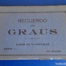 Postales: (PS-65720)BLOCK DE 12 POSTALES DE GRAUS-SERIE !ª.FOTO AGUILAR. Lote 269363353