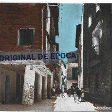 Postales: (PS-65788)POSTAL DE LA PUEBLA DE CASTRO(HUESCA)-PORCHES Y CALLE MAYOR.EDICIONES RAE. Lote 269696733