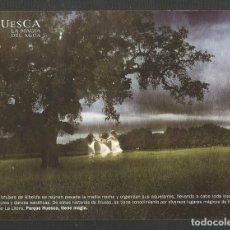 Postales: TARJETA PUBLICITARIA HUESCA LA MAGIA DEL AGUA EDITA TURISMO. Lote 270530023