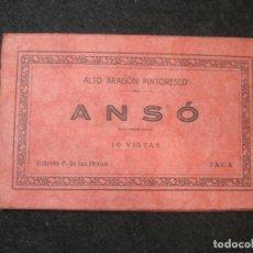 Postales: ANSO-BLOC CON 9 POSTALES ANTIGUAS.ED·F. DE LAS HERAS-VER FOTOS-(81.904). Lote 270636038