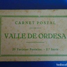 Postales: (PS-65955)BLOCK DE 20 POSTALES VALLE DE ORDESA-2ª SERIE-CLICHES ARRIBAS. Lote 271820723