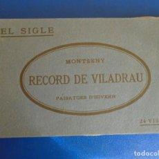 Postales: (PS-65956)BLOCK DE 24 POSTALES RECOR DE VILADRAU-FOTOTIPIA THOMAS. Lote 271821083