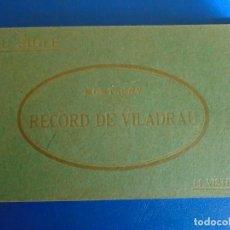 Postales: (PS-65957)BLOCK DE 14 POSTALES RECOR DE VILADRAU-FOTOTIPIA THOMAS. Lote 271821513