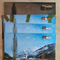 Postales: BIESCAS Nº 12022 VISTA PARCIAL / POSTAL , PRUEBAS DE COLOR Y NEGATIVOS / EDICIONES PERGAMINO. Lote 276805573