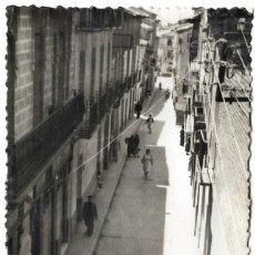 Postales: Nº 1 - EJEA DE LOS CABALLEROS - CALLE MEDIA VILLA - FOTO SAMPER - SIN CIRCULAR. Lote 277600098