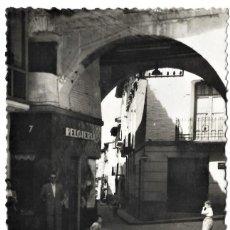 Postales: Nº 4 - EJEA DE LOS CABALLEROS - PORTAL - FOTO SAMPER - SIN CIRCULAR. Lote 277600153