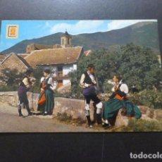 Postales: JACETANIA HUESCA PAREJAS EN TRAJE DE CHESA. Lote 277656013