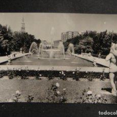 Postales: ZARAGOZA - PARQUE PRIMO DE RIVERA , - EDI. SICILIA - SIN CIRCULAR ,. Lote 277747618