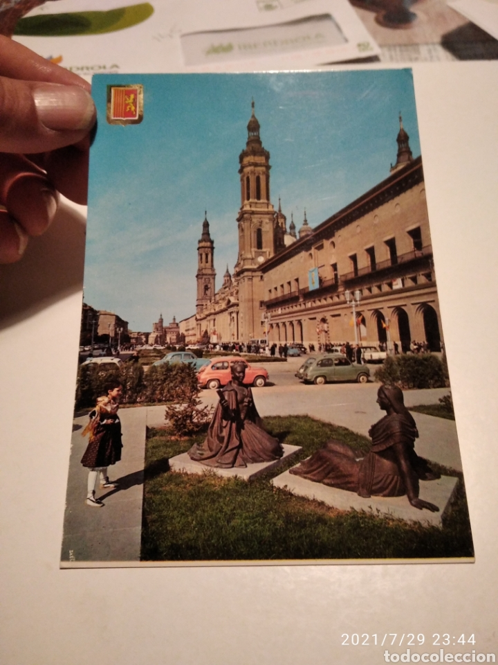 POSTAL ZARAGOZA (Postales - España - Aragón Moderna (desde 1.940))