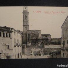 Postales: CASPE - EDICIONES FERMIN FACI ALCOBER - FOTO ROISIN , SIN CIRCULAR. Lote 278416213