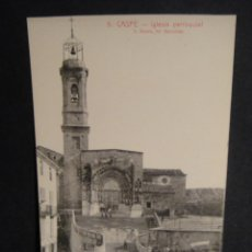Postales: CASPE - EDICIONES FERMIN FACI ALCOBER - FOTO ROISIN , SIN CIRCULAR. Lote 278416268