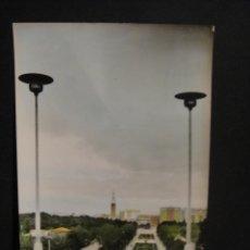 Postales: ZARAGOZA - PARQUE PRIMO DE RIVERA - EDICIONES DELFLOR - SIN CIRCULAR. Lote 278427208