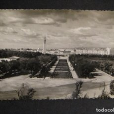 Postales: ZARAGOZA - PARQUE PRIMO DE RIVERA - EDI. M. MARTINEZ DE LA VALLE - SIN CIRCULAR , ESCRITA EN REVERSO. Lote 278428543