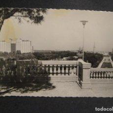 Postales: ZARAGOZA ,PARQUE PRIMO DE RIVERA - EDI, GARRABELLA - SIN CIRCULAR. Lote 278454328