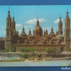 Postales: POSTAL SIN CIRCULAR ZARAGOZA 195 TEMPLO DEL PILAR SIN EDITORIAL. Lote 279501098