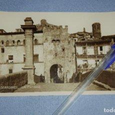 Postales: ANTIGUA POSTAL ORIGINAL DE VALDERROBRES TERUEL LA ENTRADA. Lote 283756578