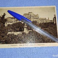 Postales: ANTIGUA POSTAL ORIGINAL DE ZARAGOZA PLAZA DE ARAGON Y PASEO DE LA INDEPENDENCIA. Lote 283758923
