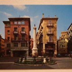 Cartes Postales: TERUEL - PLAZA DE CARLOS CASTEL - TORICO - BUZÓN DE CORREOS - LAXC - P61898. Lote 284574138