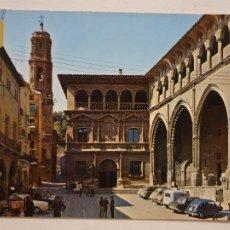 Cartes Postales: ALCAÑIZ - PALACIO MUNICIPAL Y LONJA - BUZÓN DE CORREOS - TERUEL - LAXC - P61947. Lote 284586383