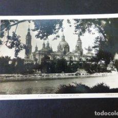 Postales: ZARAGOZA TEMPLO DE NUESTRA SEÑORA DEL PILAR. Lote 285239443