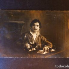 Postales: BARBASTRO HUESCA POSTAL FOTOGRAFICA GALLIFA FOTOGRAFO RETRATO DE MUJER. Lote 286409838