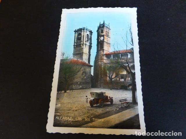 ALCARAZ ALBACETE LAS DOS TORRES (Postales - España - Aragón Antigua (hasta 1939))