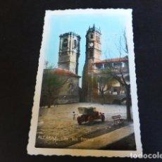 Postales: ALCARAZ ALBACETE LAS DOS TORRES. Lote 286600838
