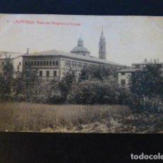 Postales: CALATAYUD ZARAGOZA VISTA DEL HOSPICIO E INCLUSA. Lote 286974653