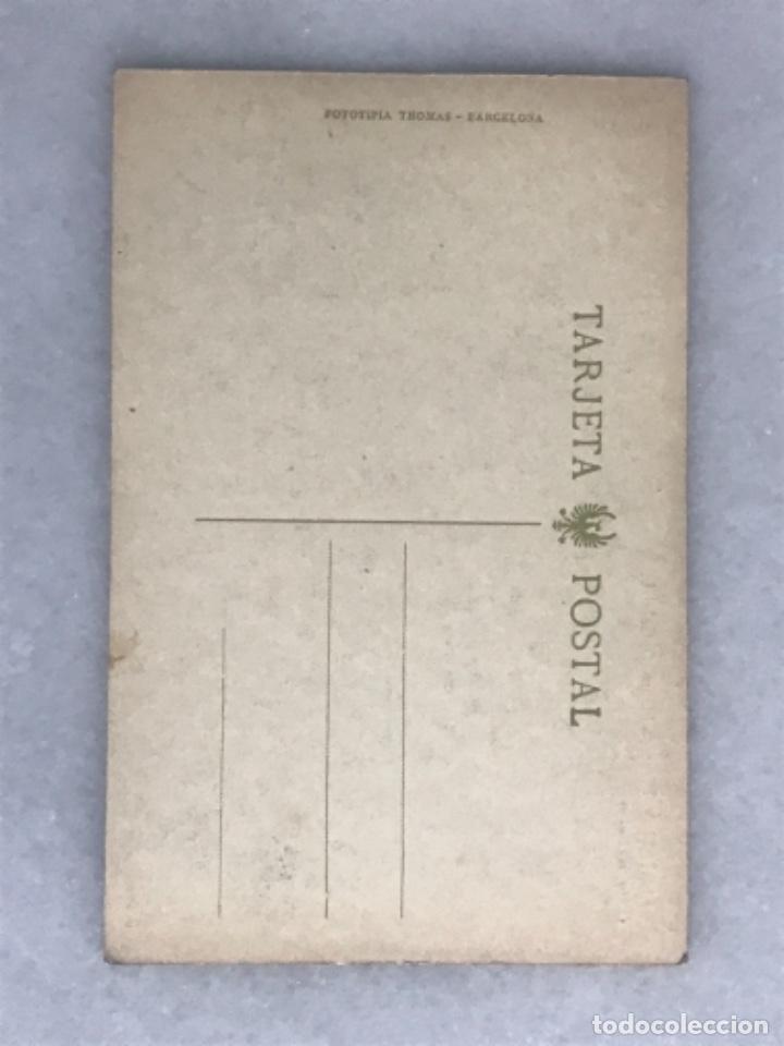 Postales: Tarjeta postal Calatayud. Plaza de Maura. Foto Rubio - Foto 2 - 287059728