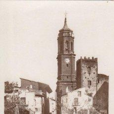 Postales: POSTAL FOTOGRAFICA LA IGLESUELA DEL CID (TERUEL) CALLE SAN PABLO -VER DORSO-. Lote 287104848