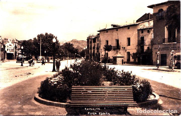 TAMARITE (HUESCA) - PLAZA DE ESPAÑA (Postales - España - Aragón Moderna (desde 1.940))